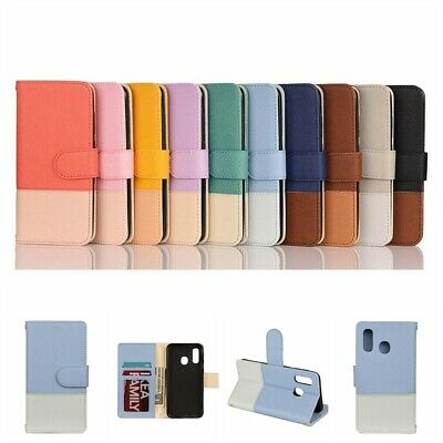 For Samsung Galaxy A20e A60 Shockproof Flip Wallet PU Leather Phone Cases Cover