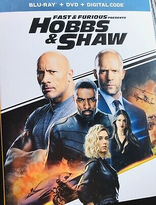 Fast And Furious Presents Hobbs & Shaw Blu Ray, Dvd And Digital 2019