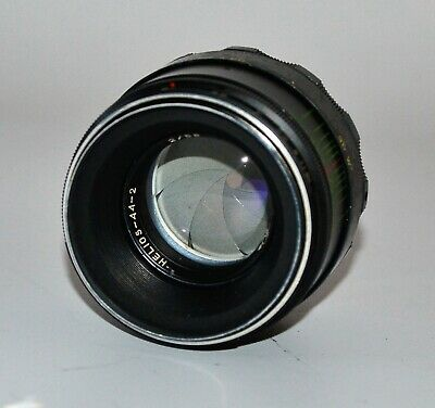 RUSSIAN USSR HELIOS-44-2 lens, f2/58, M42 mount, FOR PARTS (67)