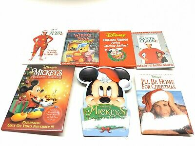 Disney Christmas Buttons Holiday Buttons Vintage Lot Santa Clause Buttons
