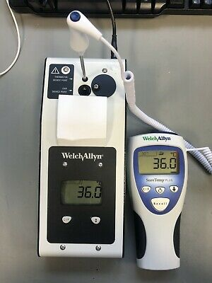**CALIBRATION TESTED** Welch Allyn SureTemp Plus 692 Medical Thermometer