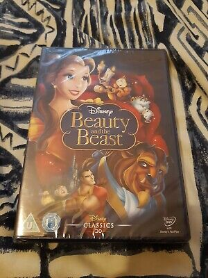 Beauty And The Beast (DVD, 2010), 1 disc brand new still sealed