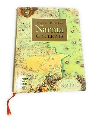 The Complete Chronicles of Narnia C.S Lewis Hardback Book