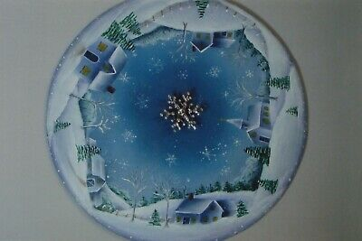 "Judy Diephouse/Lynne Deptula tole painting pattern ""A Snowy Winter's Night"""