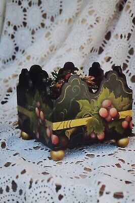 "Barbara Shores tole painting pattern ""Cachepot"""