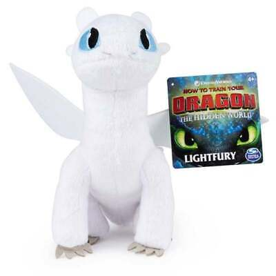New Spin Master DreamWorks Dragons LIGHTFURY Plush HTTYD 3 The Hidden World 2019