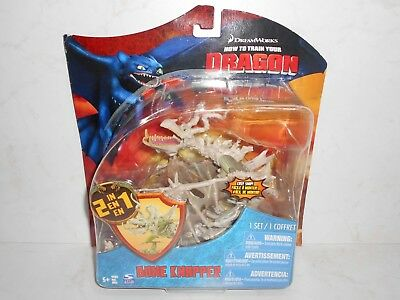 HTF 2010 Spin Master DreamWorks Dragons: 2in1 BONE KNAPPER Boneknapper HTTYD 5+