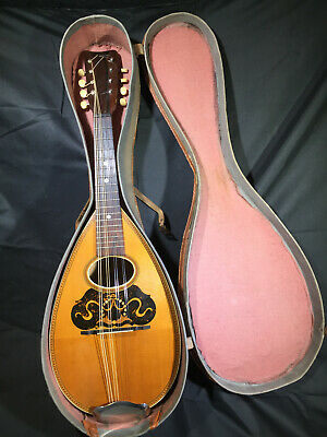 Antique Mandolin-Clean!-American Conservatory from 1900-serial #221930
