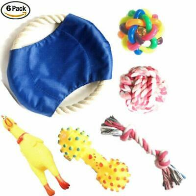 Chew Dog Toys Squeaky Dog Toys for Puppy and Small Medium Dog. 6 PCS