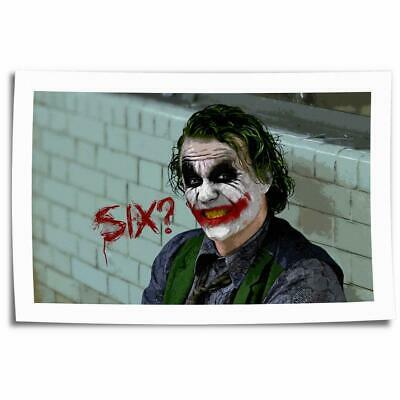 "16""x26""Batman the joker Paintings HD Print on Canvas Home Decor Wall Art Picture"