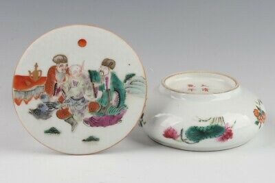 Chinese Antique Porcelain Painting Box