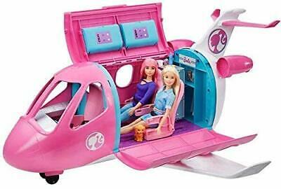 Barbie Dream Plane Playset Pretend Airplane Doll AccessoriesToy 3 4 5 6 New Kids
