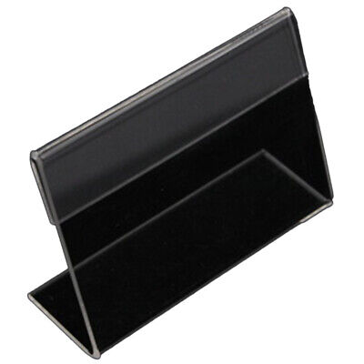 20 Acrylic Business Card Holder L-Shaped Transparent Acrylic Table Price TaC4B4