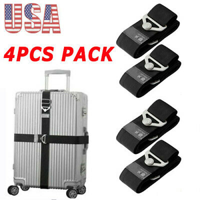 Elastic Travel Luggage Safe Belt Packing Suitcase Baggage Backpack Strap Fixed
