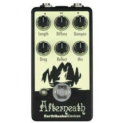 EarthQuaker Devices Afterneath V2 Reverb Pedal