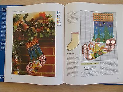Discover Cross Stitch~Jenkins & Franklin~40 Projects~112pp HBWC