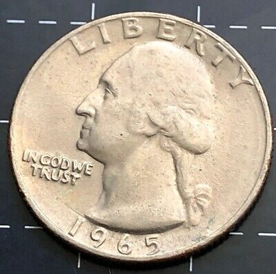 1965 United States Of America - U.s.a Quarter Dollar 25 Cent Coin