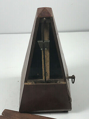 1846 Metronome French Maelzel Paquet WORKS has some repair