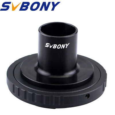 SVBONY Microscope T Adapter Camera & T2 Ring for Nikon DSLR/SLR Lens Adapter TOP