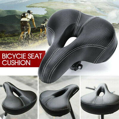 Road MTB Mountain Bike Bicycle Seat Soft Padded Cushion Saddle Spring Cover VIC