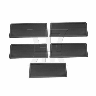 5x PC Magnetic Fan Dust Filter Mesh PC Case Articles Parts 120x240x2.0mm