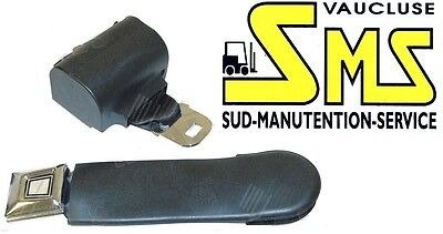 Belt of Security Retractable Winder Must Be Worn Vinyl Trolley Tailgate Lifter