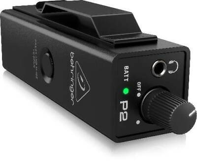 Behringer P2 Ultra-Compact In-Ear Monitor Amplifier New