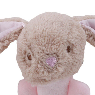 Soft Animal Handbells Plush Squeeze Rattle Toys For Newborn Infant Gifts BT3