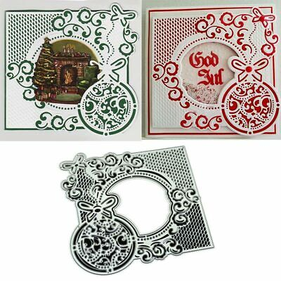 Ellipse Lace DIY Metal Cutting Dies Stencil Scrapbooking Album Paper Card Craft