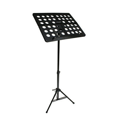 Professional Heavy Duty Folding Orchestra Band Conductor Sheet Music Stand / Bag