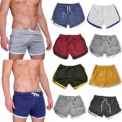 Comfortable Men Cotton Casual Short Pants Gym Sports Summer Beach Running Shorts