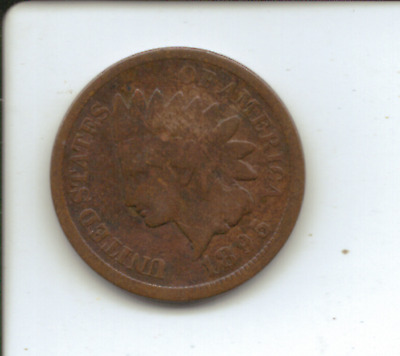 UNITED STATES of AMERICA - 1895 ONE CENT COIN