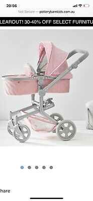 Doll Pram 3 In 1 Convertible - From Pottery barn