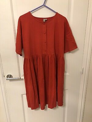 Asos Red Maternity Dress Size 12