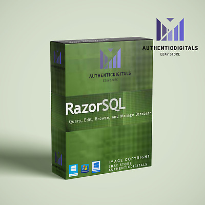 RazorSQL - SQL Query Tool and SQL Editor LifeTime License key - instant delivery