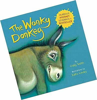 Children Book The Wonky Donkey Book Paperback by Craig Smith-Funny Kids Bedtime