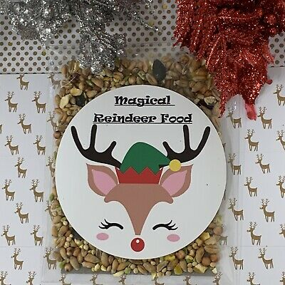Magical REINDEER FOOD Wildlife Friendly Christmas eve box Favour
