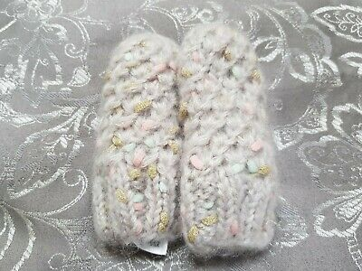 Gorgeous Mothercare Baby Girls Mittens/Gloves Aged 6-12 Months, New