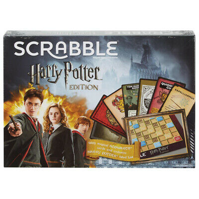 Scrabble Harry Potter Edition - Officially Licensed Family Board Game