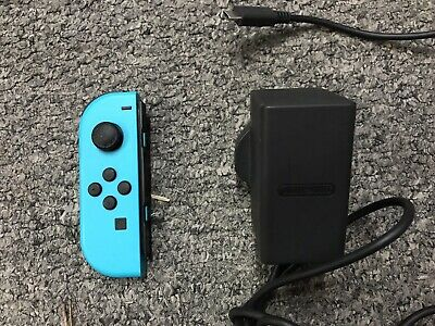 Official Nintendo Switch Left-hand Joy Con Controller + AC Adapter Faulty Spares