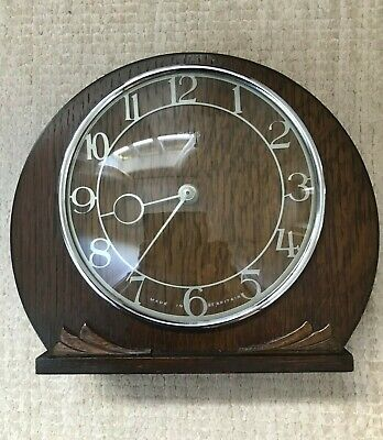 SMITHS of Enfield - Vintage Art Deco Mantel Clock - Repair or Spares