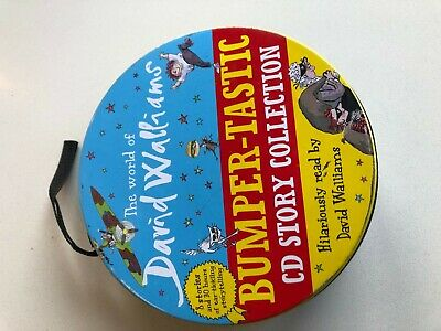 The World of David Walliams audio CD story collection bumper-tastic