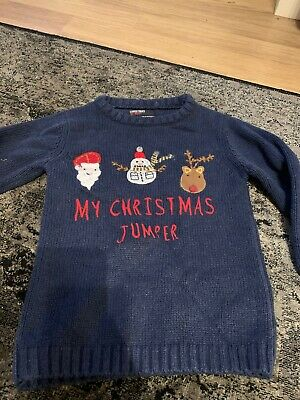 Boys Christmas Jumper By Next Age 3-4 Years