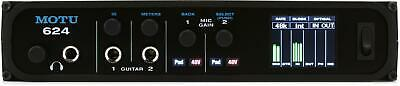 MOTU 624 16x16 Thunderbolt / USB 3.0 Audio Interface with AVB