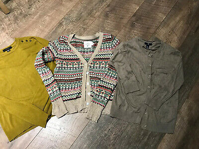 Ladies Vintage Cardigan  And Jumper Bundle Size Small