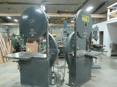 USED Moak Super 36 Left & Right Hand Vertical Woodworking Bandsaws (DP)