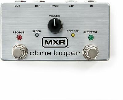 MXR M303 Clone Looper Guitar Effects Pedal with Time Stretch - Silver