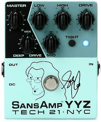Tech 21 YYZ Geddy Lee Signature SansAmp YYZ Pedal