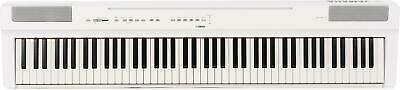 Yamaha P-125 88-Key Weighted Action Digital Piano - White