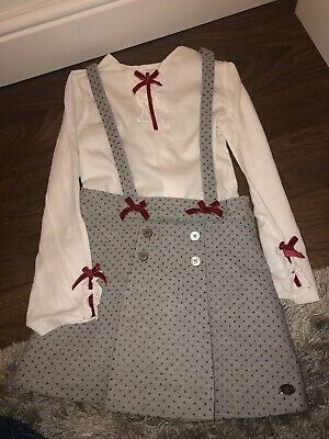 Dolce Petit Girls Outfit. Xmas Party/Winter Wedding Age 6-8